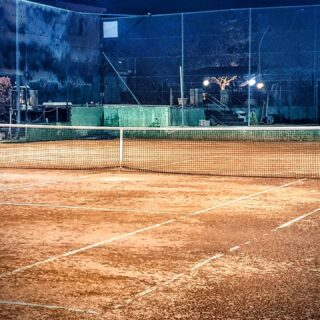 Courts have feelings too...especially clay courts...take good care of them...they ll always thank you for that...see you tomorrow...